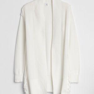 Gap side-lace cardigan